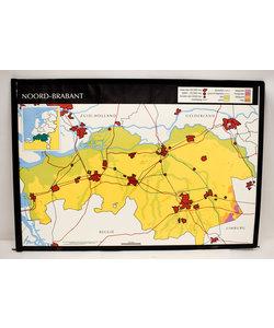 Landkaart Noord-Barbant