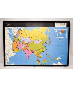 Landkaart Azië - Zuid-west Azië