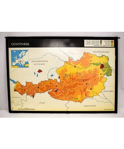 Landkaart Oostenrijk - Italië