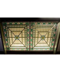 Glas in lood plafond
