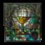 Glas in lood raam Mengelberg No. 2