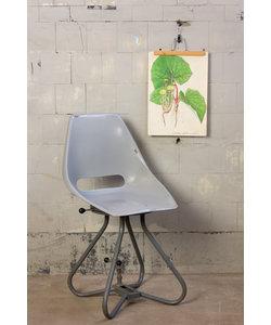 Vintage stoel - Grijs