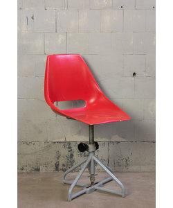 Vintage stoel - Rood