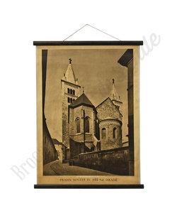 Historische schoolplaat - Scholen in Praag