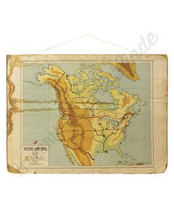 Oude landkaart - noord Amerika