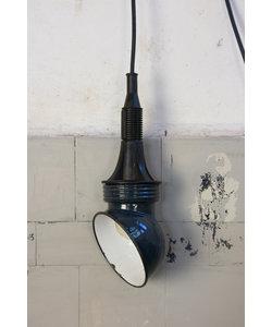 Retro hanglamp - Dark blue