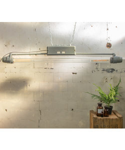 Industriële TL-lamp - omgebouwd