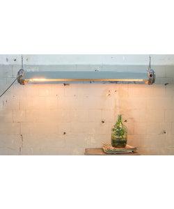 Industriële TL-lamp '6 Light' - omgebouwd