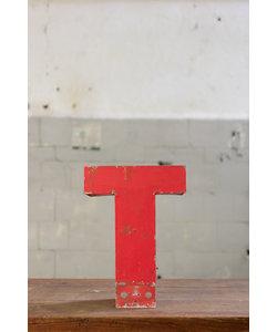 Vintage letter - T