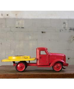 Metalen auto - Rood/Geel