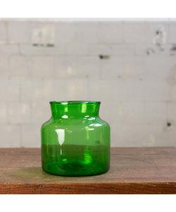 Glazen vaas - Groen