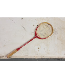 Tennis racket - Rood