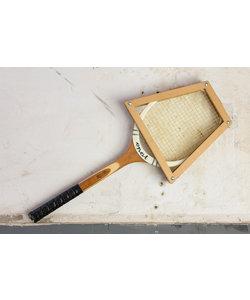 """Tennis racket - houten frame """"No 2"""""""