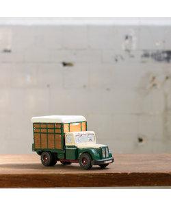 Vintage vrachtwagen - groen