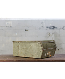 Oude magazijnbak - Grijs No. 2