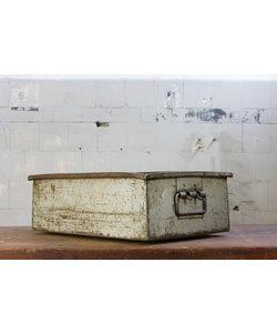 Oude magazijnbak - Grijs No. 3