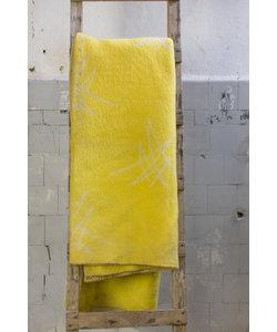 Vintage plaid - Fel geel