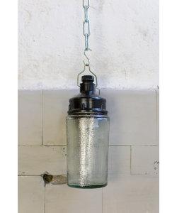 Glazen potlamp No. 1