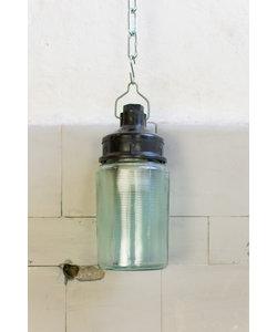 Glazen potlamp No. 2