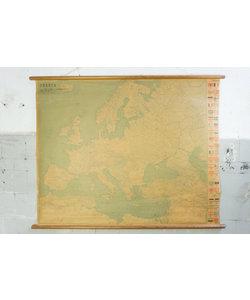 Vintage landkaart - Europa