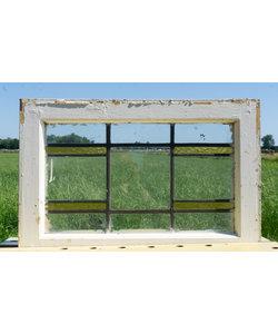40,5 x 60,5 cm - Glas in lood raam No. 294