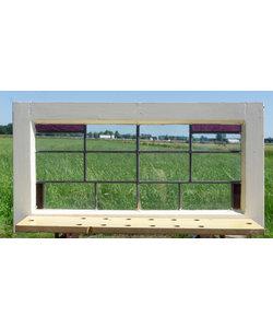 66 x 78 cm - Glas in lood raam No. 296