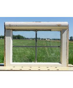 40,5 x 54,5 cm - Glas in lood raam No. 299