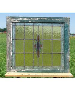 65 x 70,5 cm - Glas in lood No. 305