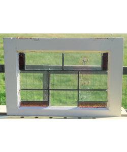 41,5 x 56,5 cm - Glas in lood raam No. 313