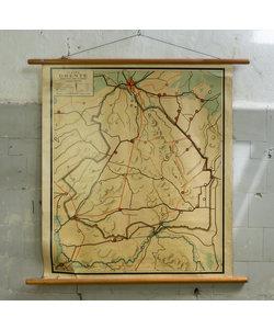 Oude landkaart - Drenthe