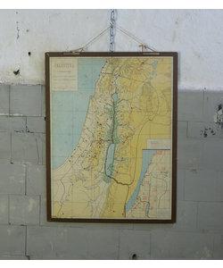 Oude landkaart - Palestina