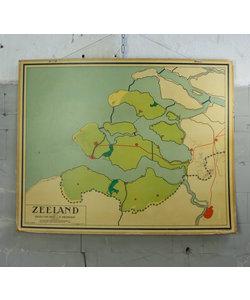 J.B Wolters Landkaart - Zeeland