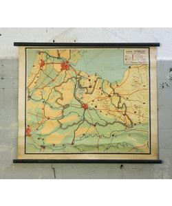 Oude landkaart - Utrecht