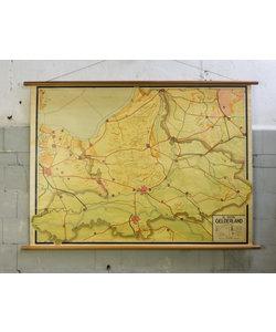 Oude landkaart - Gelderland