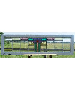 45,5 x 162,5 cm - Glas in lood raam No. 315