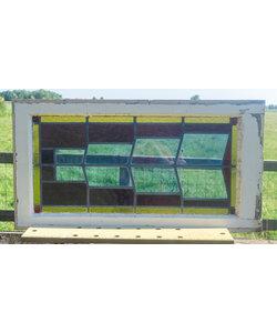 46 x 89 cm - Glas in lood raam No. 316