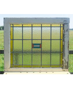 61 x 71 cm - Glas in lood raam No. 320