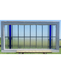 64 x 122 cm - Glas in lood raam No. 323
