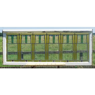 66 x 165 cm - Glas in lood raam No. 330