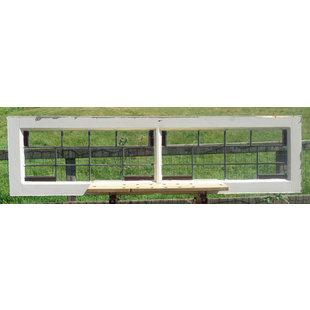41,5 x 155 cm - Glas in lood raam No. 326