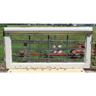 39,5 x 82,5 cm - Glas in lood raam No. 339