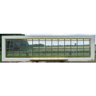 51 x 183,5 cm - Glas in lood raam No. 356