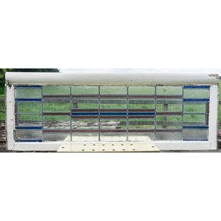 60 x 163,5 cm - Glas in lood raam No. 359