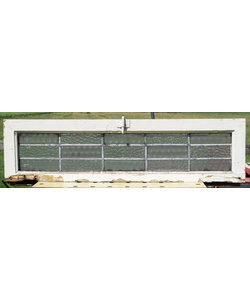 26,5 x 102 cm - Glas in lood raam No. 346