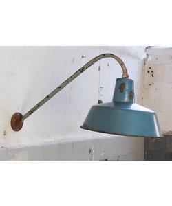 Bauhaus wandlamp - Lichtblauw