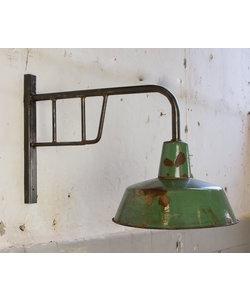 Bauhaus wandlamp - Groen