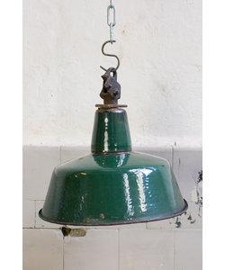Bauhaus hanglamp - Groen/Zwart