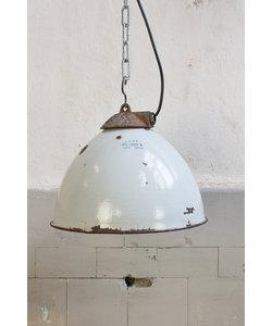 Vintage hanglamp - Blauw/grijs