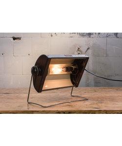 Vintage bureaulamp 'Grey hood'