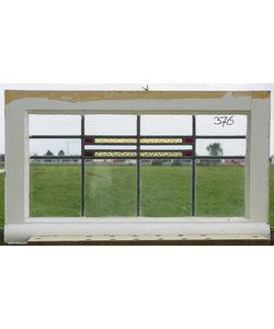 46 x 82 cm - Glas in lood raam No. 376